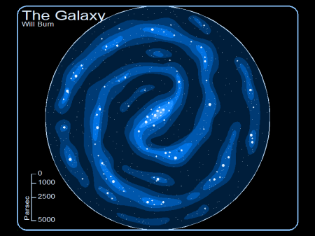Galaxy Map Sans Lines